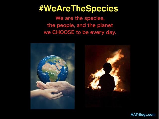 #WeAreTheSpecies_1